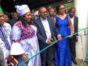 Hon Dr. Memunatu Pratt, Minister of  Tourism & Culture Sierra Leone