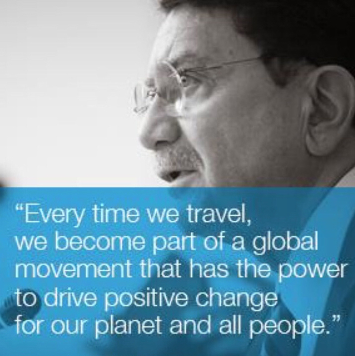 Dr. Taleb Rifai has a message for Africa