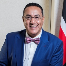 Najib Balala, Secretary of Tourism, Kenya